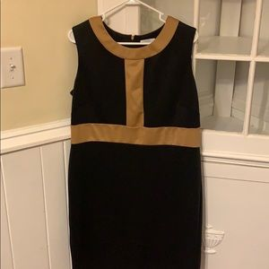 Black dress with tan lines!
